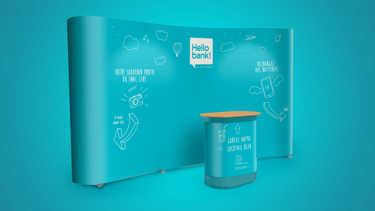 Direction artistique – Hello Bank
