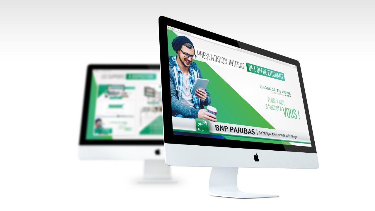 Direction Artistique – BNP Paribas Agence en ligne